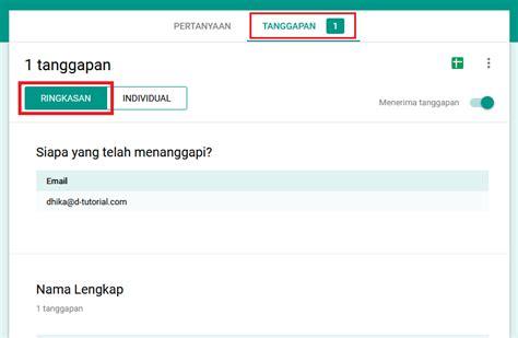 cara membuat form online google docs cara membuat formulir online google forms dhika dwi pradya