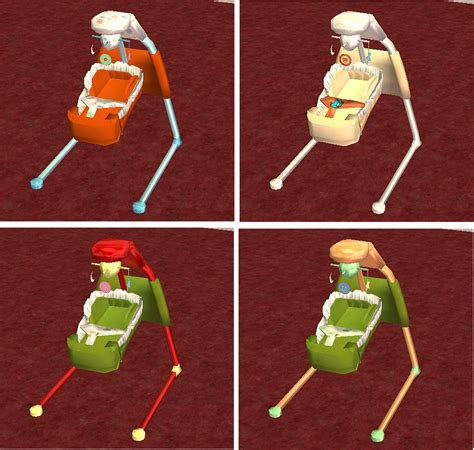 swing stuff mod the sims in the beginning frame recolours for