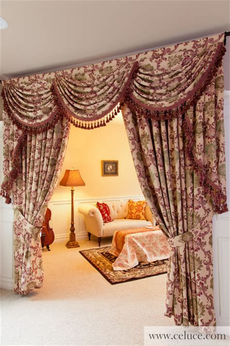 iranian curtains valance curtains with swags and jabots traditional