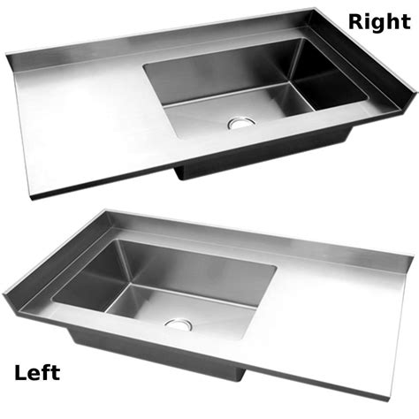 Stainless Steel Countertop With Sink by Stainless Steel Countertop With Integrated Sink And Backsplash