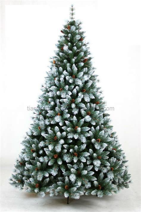 foto de 193 rbol de navidad con los conos de la nieve y del