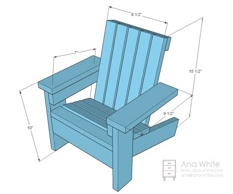 how to build a recliner ana white fiona s doll adirondack chair diy projects