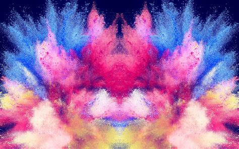 colorful powder wallpaper desktop wallpaper powder color explosion hd image