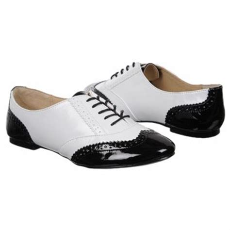 steve madden s p oxford shoes black white