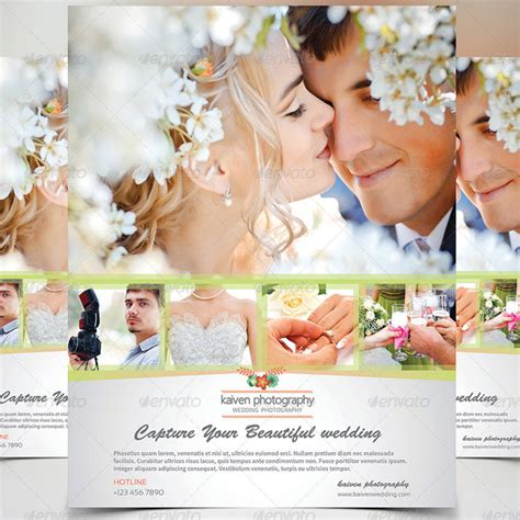 wedding photography template 15 incomparable wedding flyer templates