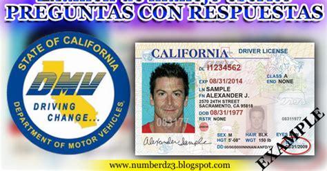 preguntas examen de manejo mexicali examen de manejo escrito en california preguntas con