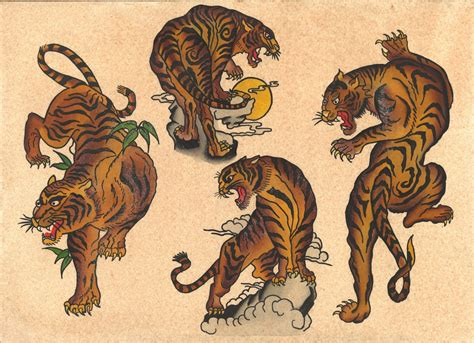 classic japanese tattoo designs vintage flash flash flash