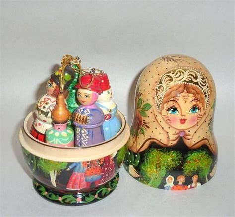 230 best hand painted russian christmas ornaments images
