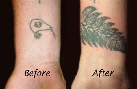tattoo cover up new zealand silver fern coverup by hellnbak on deviantart
