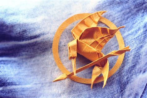 Mockingjay Origami - mockingjay by synconi on deviantart