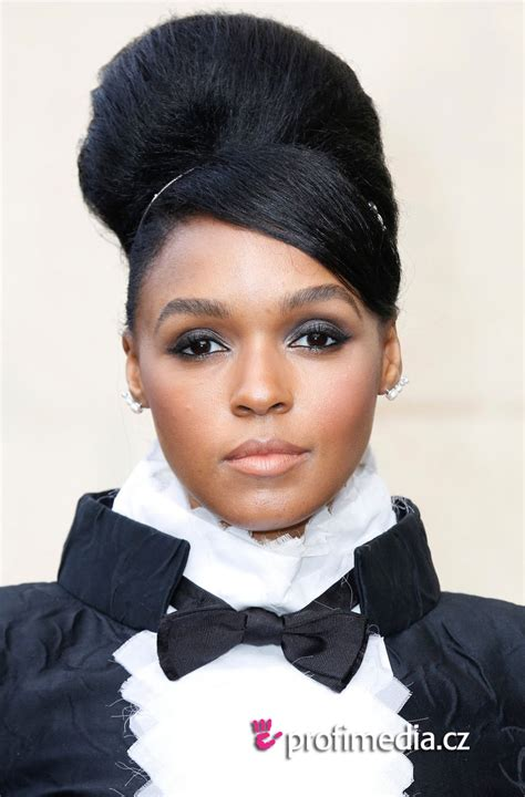 Janelle Monae Hairstyle by Janelle Monae Hairstyle Easyhairstyler