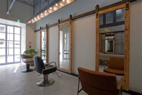 salon station layout ki se tsu hair salon esthetic salon by iks design