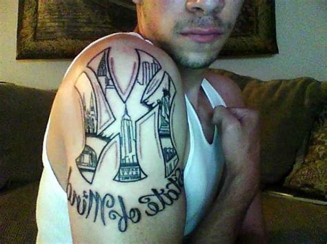 new york tattoo reality show new york state of mind tattoo on shoulder real photo