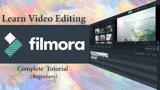 tutorial edit video filmora hindi tutoirals make money from home speed wealthy
