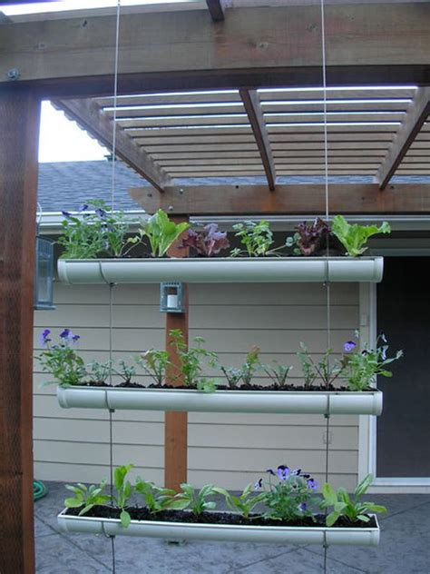 Hanging Garden Planters by Save Space In Your Home Or Garden By Creating Vertical