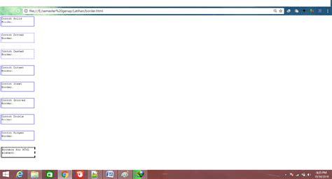 membuat tag html cendana membuat border cantik dengan tag html