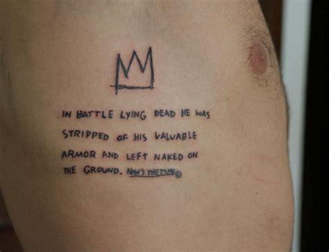vitor novato tattoo jean michel basquiat vitor novato