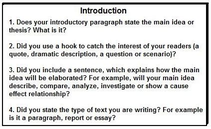 How To Write An Introductory Paragraph For An Essay by Introduction Paragraph Format Language Arts Poetry