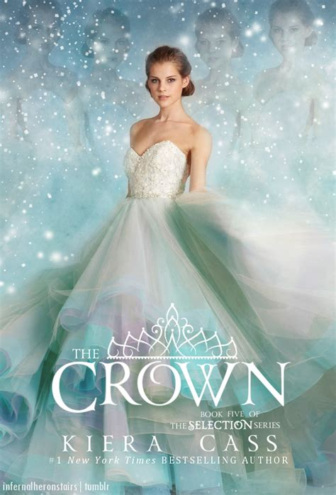 0007587090 the selection the selection infernalheronstairs fanmade book cover for the crown by