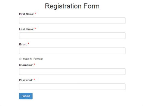 free registration form template 15 best php registration form templates free premium