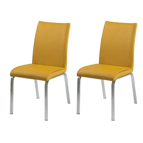mustard yellow dining room chairs leonora mustard yellow faux leather dining chairs free