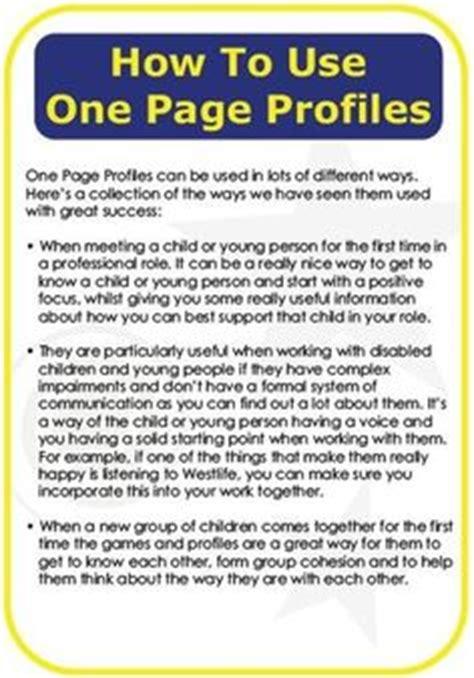 one page profile template 1000 images about one page profiles on