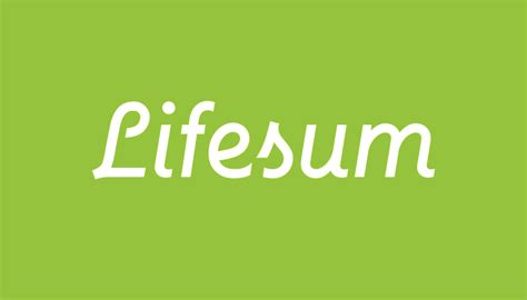App Review Lifesum Review Apple Lifestyle Calories Food Tracker