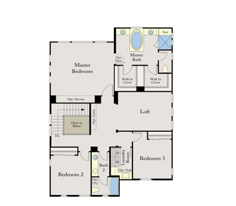 calatlantic floor plans standard pacific calatlantic homes villagio promontory