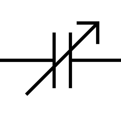 capacitor symbol electrical file variable capacitor symbol 2 svg wikimedia commons