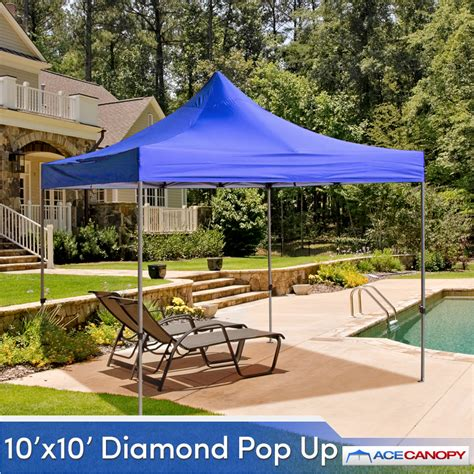 Ace Canopy Ace Canopy Pop Up Tent 10 X10