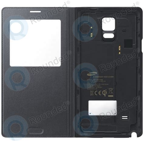 Note 4 S View Cover samsung samsung galaxy note 4 s view wireless cover black