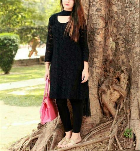pretty black net kurti black net dress stylish dresses