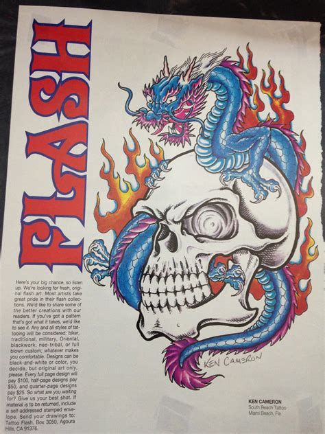 flash tattoo in miami tattoo flash magazine tattoos by lou miami s original