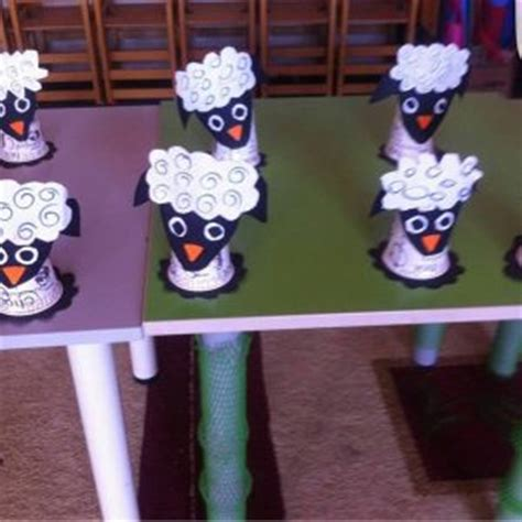 Paper Cup Animals Craft - recycled farm animals craft idea for preschoolers