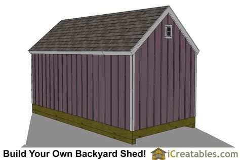 colonial garden shed plans