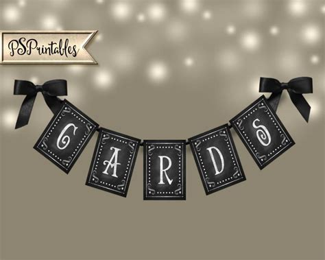 wedding banner diy printable wedding banner cards diy chalkboard wedding