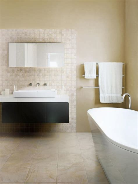 Porcelain Tile In Bathroom by Bathroom Flooring Styles And Trends Hgtv