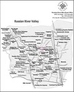 russian river valley california map russian river valley map places i want to go