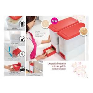 Tupperware Rice Box tupperware ricesmart 10kg rice dispenser