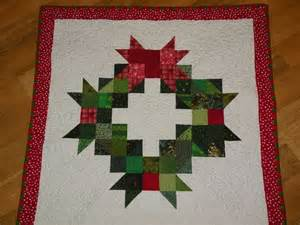 Quilt Pattern Wreath by
