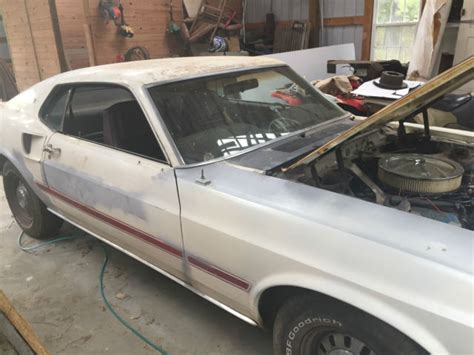 Find Uva 1969 Mustang Mach 1 Fastback Sports Roof M Code Barn Find Virginia