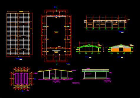 plans warehouse  autocad  cad   kb