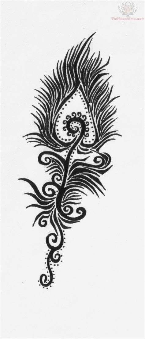 tribal peacock tattoos 1000 ideas about tribal feather tattoos on
