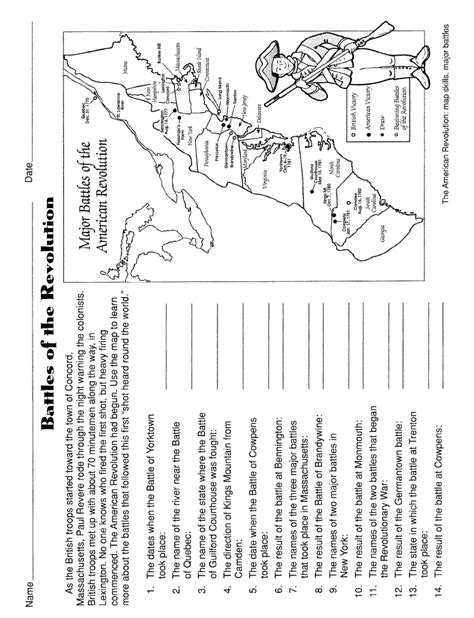 america independence movements worksheet rrspace american revolution worksheet