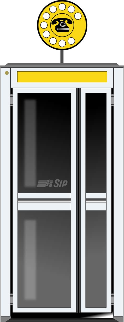 cabina telefonica telecom clipart telephone booth