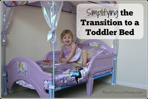 transitioning toddler to bed toddlerbedimg busy mommy media