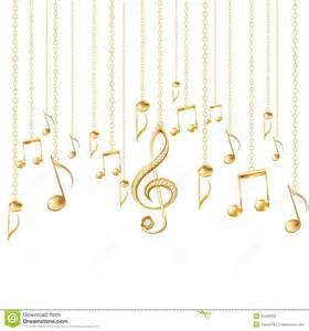 Foto de archivo libre de regal 237 as tarjeta con las notas musicales y