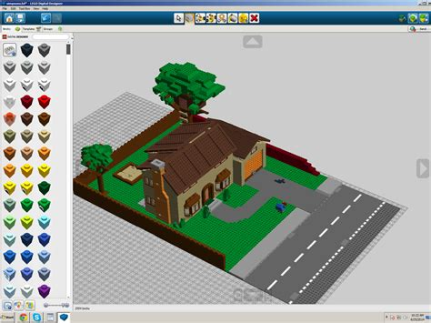 buy lego simpsons house i remade the simpsons house in the lego digital designer then added the front yard