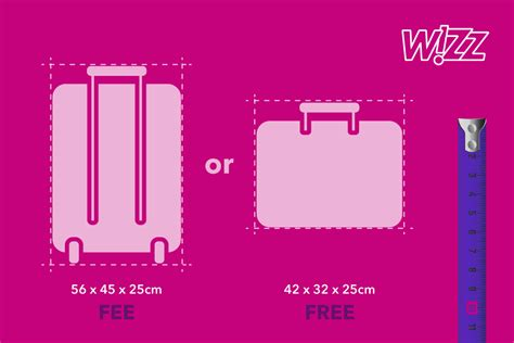 large cabin bag wizzair what size biloblog