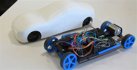 How To Make A 3d Car Out Of Paper - arduino car carduino 3d printed rc car that can be